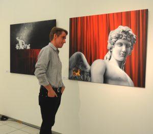 Künstler Kai Piepgras im Künstlermuseum Heikendorf