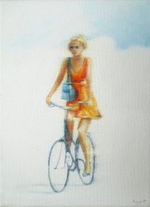 Sommer Date 18 x 24 cm, Öl auf Leinwand, Künstler Kai Piepgras