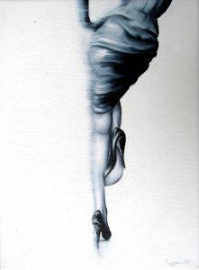 Aus-Blick 18 x 24 cm, Öl auf Leinwand